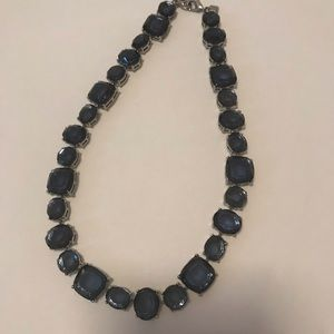 Banana Republic Blue Stone Necklace.